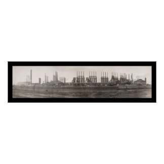 TN Coal Iron RR Huge Photo 1909 Poster