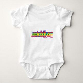 TN Live Let Love Baby Bodysuit