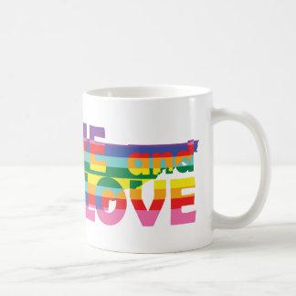 TN Live Let Love Coffee Mug