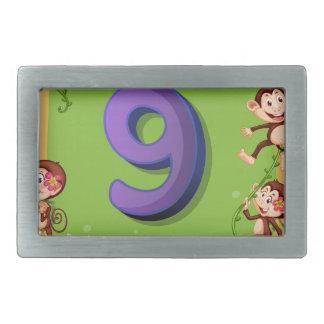 tn_number_sets_08 rectangular belt buckle