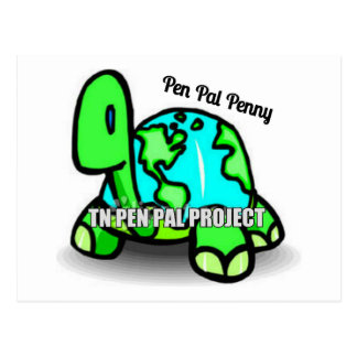 TN PEN PAL FUNDRAISER PRODUCTS POSTCARD
