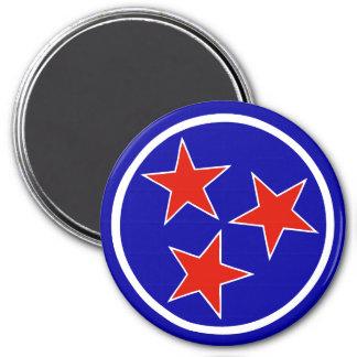 TN Stars Alternate 1 3 Inch Round Magnet
