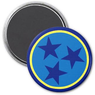 TN Stars Alternate 2 - 3 Inch Round Magnet