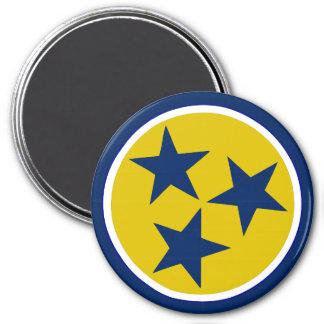 TN Stars Alternate 3 - 3 Inch Round Magnet