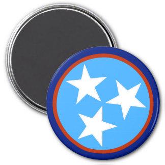TN Stars Alternate 4 - 3 Inch Round Magnet