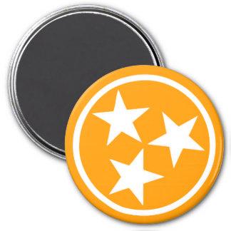 TN Stars Alternate 5 - 3 Inch Round Magnet