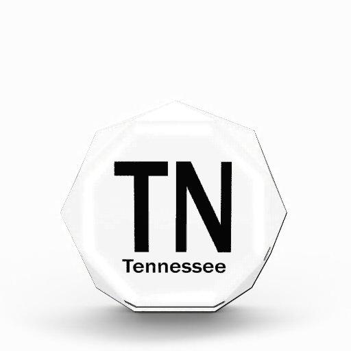 TN Tennessee plain black Awards