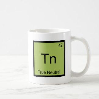 Tn - True Neutral Funny Chemistry Element Symbol T Coffee Mug
