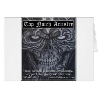 TNA Sticker Card