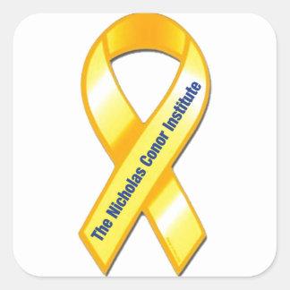 TNCI Awareness Ribbon Square Sticker