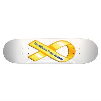 TNCI Gold Ribbon Skateboard