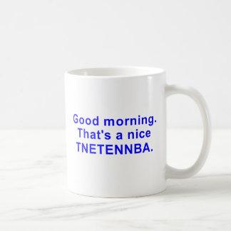 Tnetennba agradable taza básica blanca