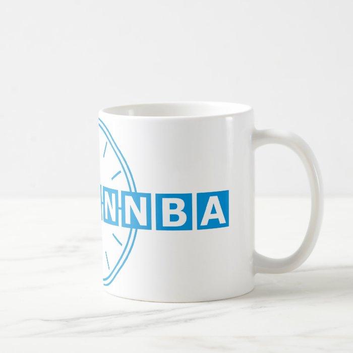 Tnetennba Clock Design Coffee Mug