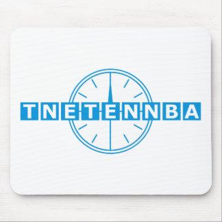 Tnetennba Clock Design Mouse Pad