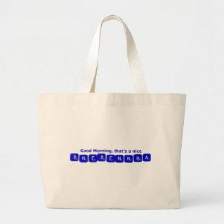 TNETENNBA - Good Morning Tote Bags