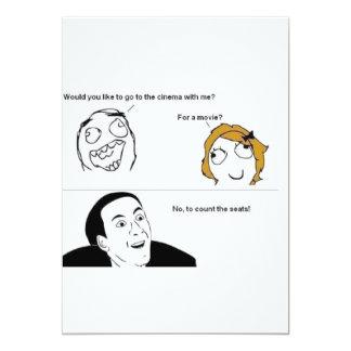 TNIT Invitation card (Rage Comic Movies)