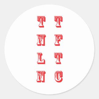 TNLN CLASSIC ROUND STICKER