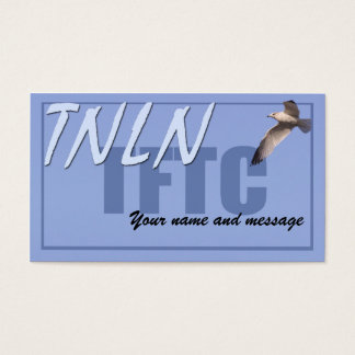 TNLN TFTC leave-behind card