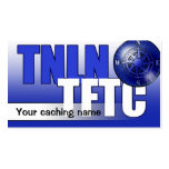 TNLN TFTC leave-behind card Business Card Templates