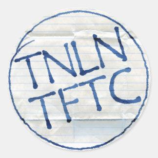 TNLN TFTC stickers