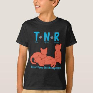 TNR Trap Neuter Return Smart Feral Cat Management T-Shirt