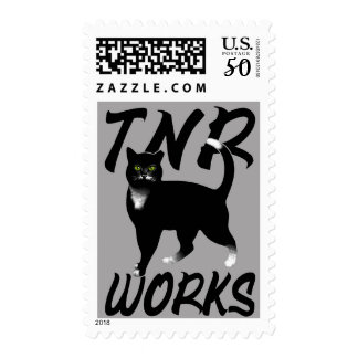 TNR Works Postage Stamps