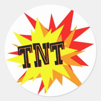 TNT CLASSIC ROUND STICKER