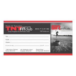 TNTgift certificate Card