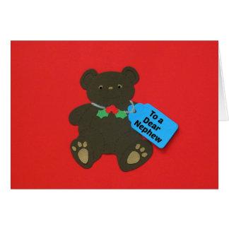 To a Dear Nephew Card