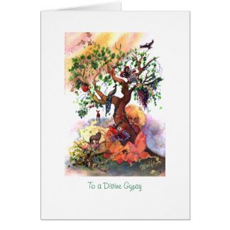 To a Divine Gypsy Card