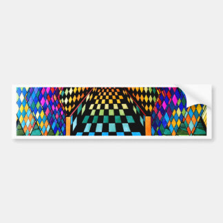 To A Higher Plane Geometrix by CricketDiane Bumper Sticker