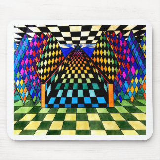 To A Higher Plane Geometrix by CricketDiane Mouse Pad