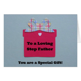 To a Loving Step Father Greeting Card