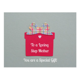 To a Loving Step Mother Postcard