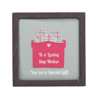 To a Loving Step Mother Premium Gift Box