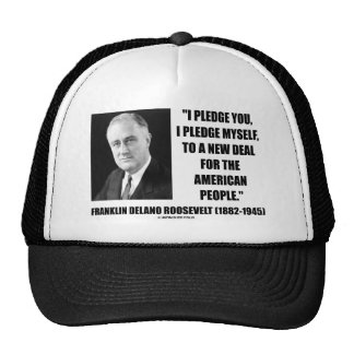 To A New Deal For The American People (Roosevelt) Trucker Hat