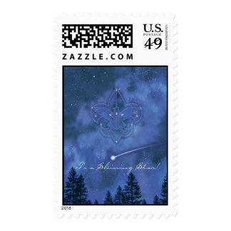 To A Shining Star Postage Stamps
