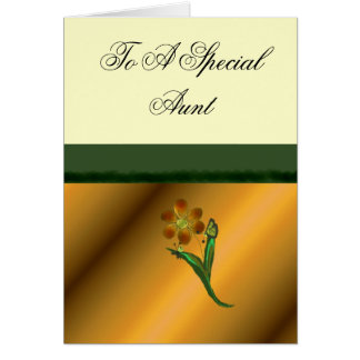 To A Special Aunt Card