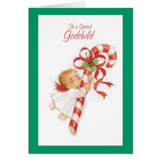 To A Special Godchild Card