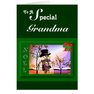 To A Special Grandma Card