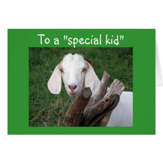 TO A SPECIAL KID AT GRADUATION-SINGLE PARENT GREETING CARD