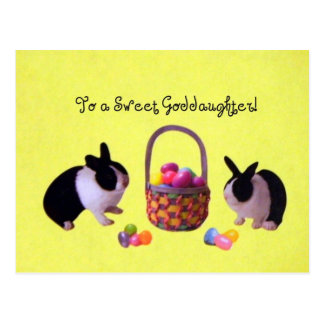 To a Sweet Goddaughter Postcards