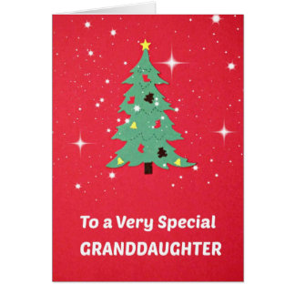 To a Very Special Granddaughter Card