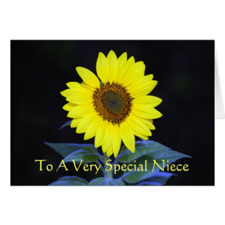 To A Very Special Niece Greeting Card