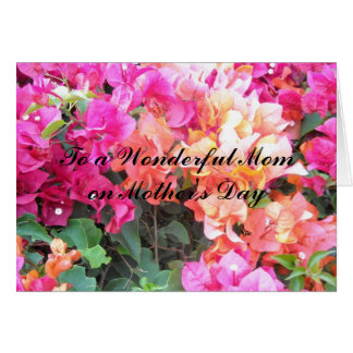 To a Wonderful Mom... Card