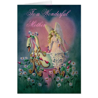 To a Wonderful Mother Card