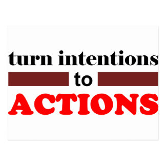 to Action Postcard