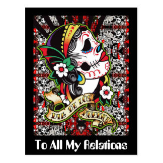 To All My Relations Postcard