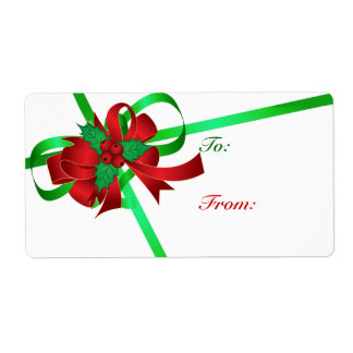 To And From Christmas Gift Tags