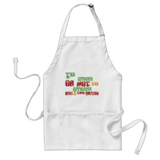 To Appraise Adult Apron